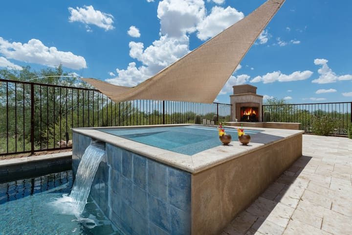 Starry Point- Enjoy the views from the patio or the pool at this Tucson home! - Marana - Hus