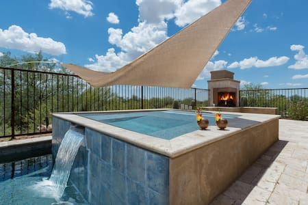 Starry Point- Enjoy the views from the patio or the pool at this Tucson home! - Marana - House