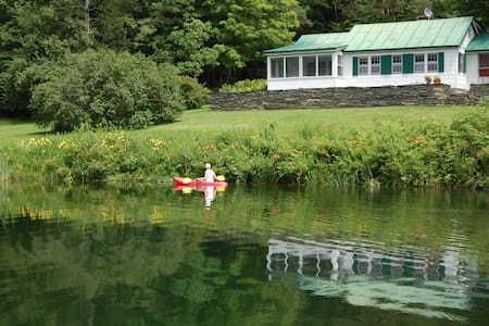 Charming 2 Bedroom Cottage in Strafford, Vermont - Strafford - Rumah