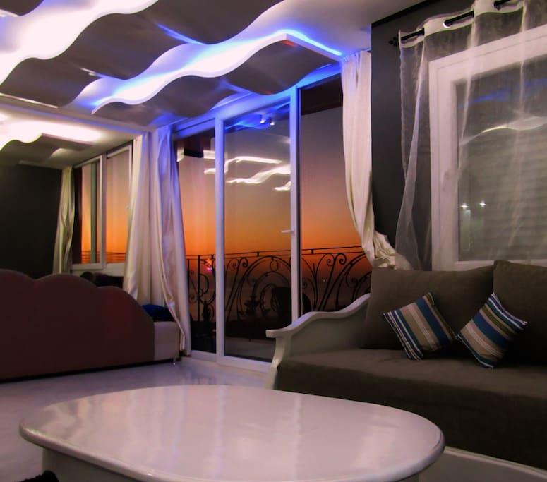 Appartement LA VAGUE Vue Mer