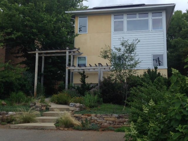 Downtown Solar Powered Eco House - Charlottesville - House