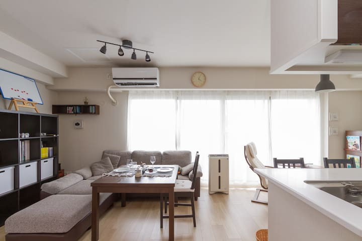 Convinient Location for Osaka,Kobe,Kyoto and Nara - 西宮市 - Apartamento