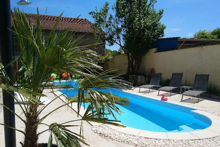Chambre Georges piscine & jacuzzi