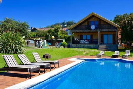 Beachescolas Windsurf House - Private 4 Bed Dorm - Cangas de Morrazo - Bed & Breakfast