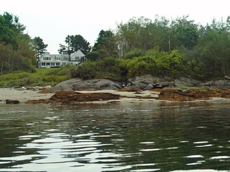 With shorefront on beautiful Casco Bay, The Studio is the ideal location to relax and enjoy island living.