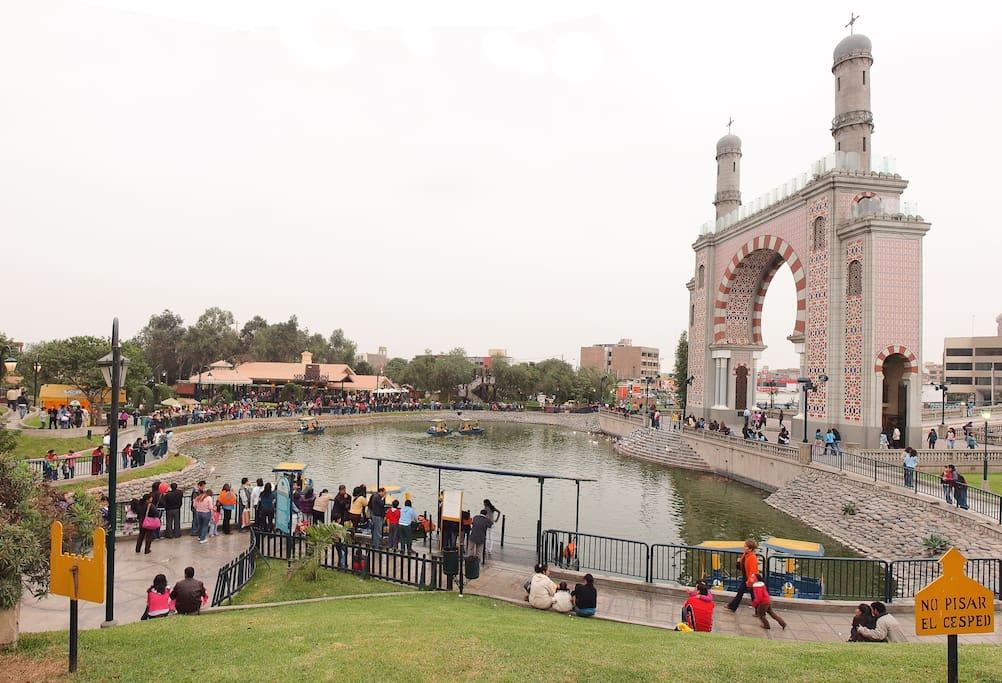 Parque de la Amistad.
