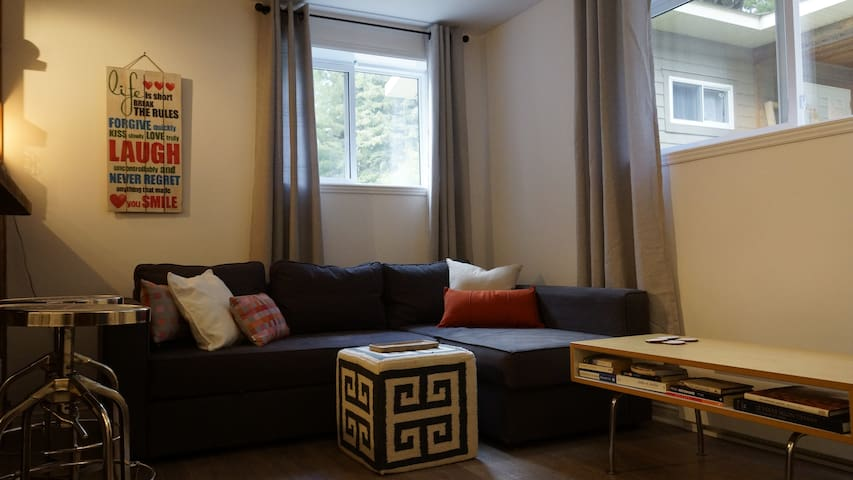 Cozy downtown Mont-Tremblant bachelor appartment