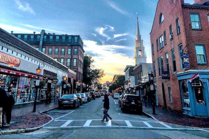 In the heart of Newburyport's downtown