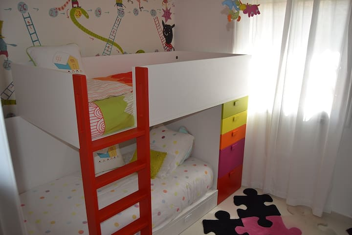 ideal beds , the only problem will be deciding who sleeps at the top