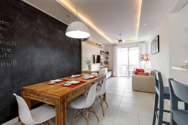 Sala de jantar.