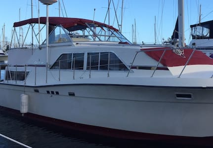 In the SLIP 38 ft. Chris Craft 2 Bed - Stock Island