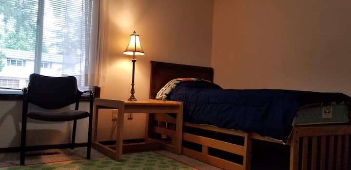 Single person room located near Chambers Bay