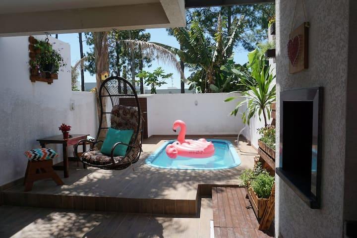 (Flp) Campeche - Sobrado 3 qts, piscina e AC