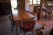 Dining Area Kitchen View