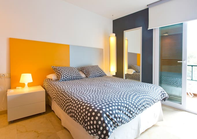 ***DOUBLE BEDROOM WITH BALCONY*** - Son Verí Nou - Ház