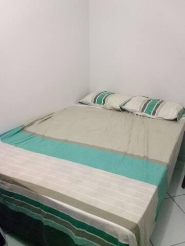Suite privativa e independente. Muito confortável.