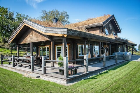 Snerting Ranch Hotel - Comfty and modern Log House