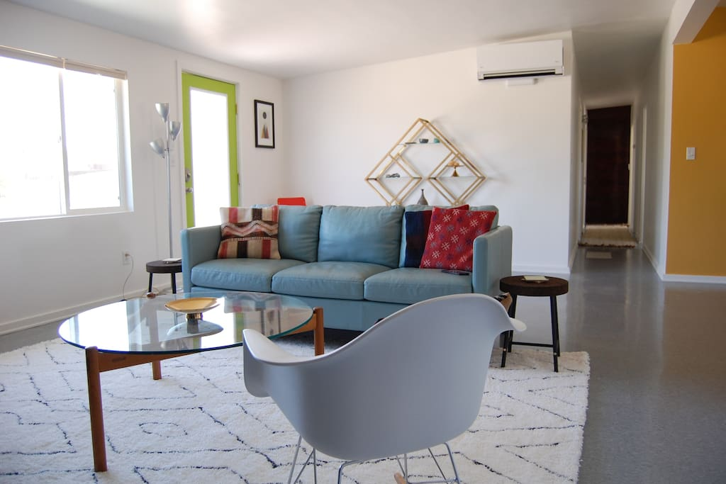 Living Room with comfortable seating for all guests.