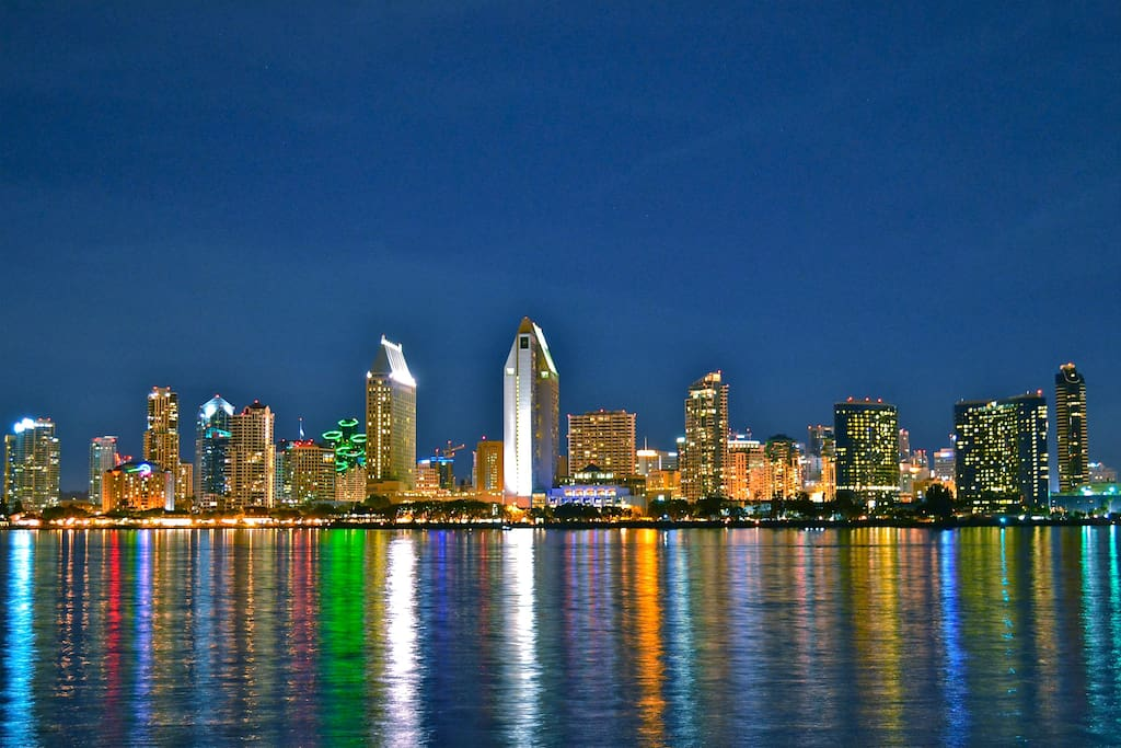 located in the heart of beautiful downtown San Diego!