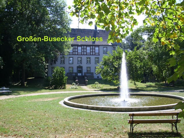 Kleine Wohnung mit Küche+Bad 10 Min DB nach Gießen