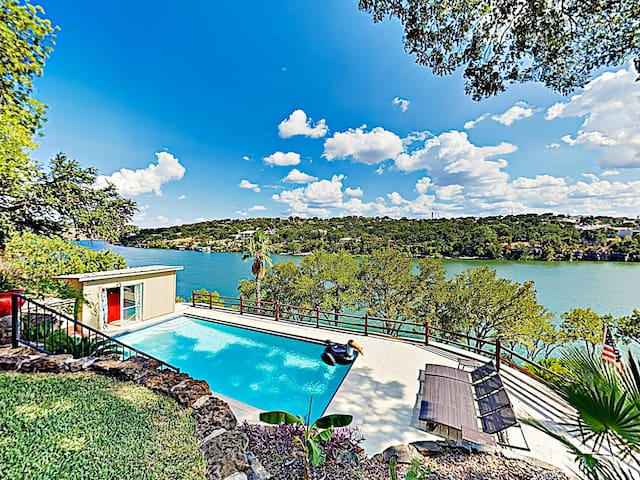 New Listing! Mid-Century Modern Lake House w/ Pool
