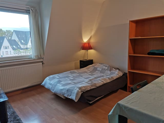 杜塞尔多夫市中心公寓中独立房间