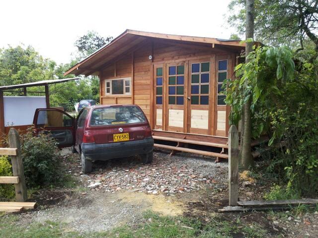 cabaña madera Cajica, 15 KM de Bogota aprox 30 min - Cajicá