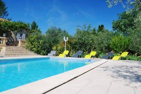 Cottage 6/7 people with pool 10' from Nîmes - Bezouce - Haus