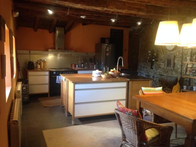Casa de 1800 restaurada - Saillagouse - บ้าน