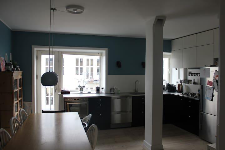 Nice and spacious apartment in Copenhagen - København - Apartment