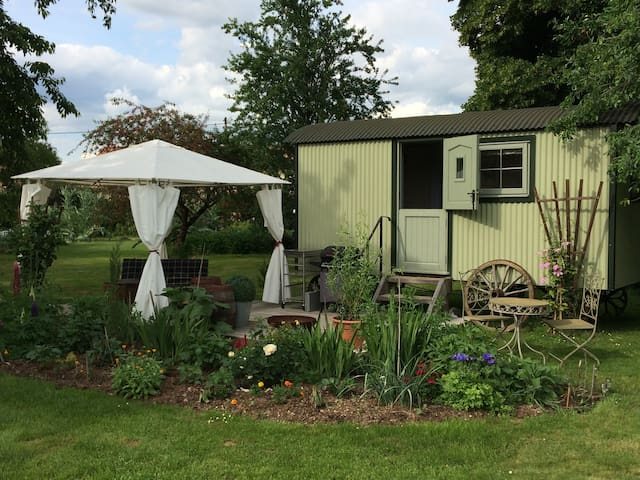 Shepherds Hut  ( Roulotte)