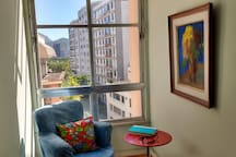 Sitting area with a view