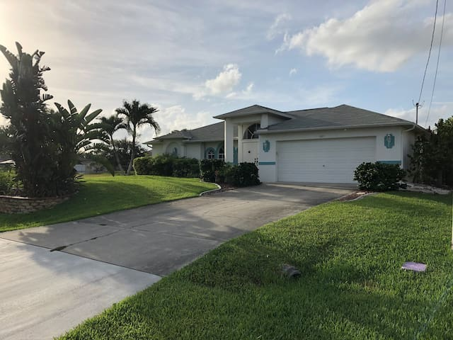 Comfortable easy living open home with heated pool