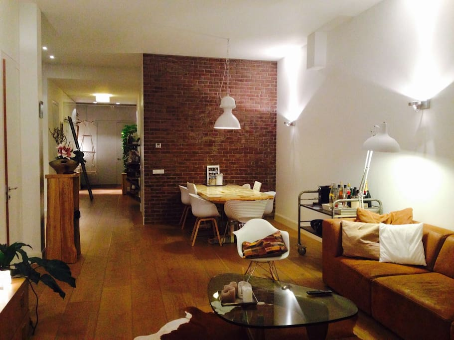 Amsterdam design loft apartment appartements louer for Design apartment jordaan