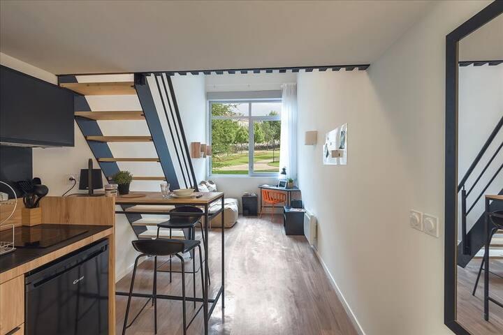 Duplex 30M² ECLA Campus à 30 Min au sud de Paris