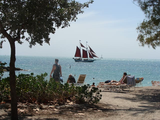 Beach at Fort Zachary Taylor