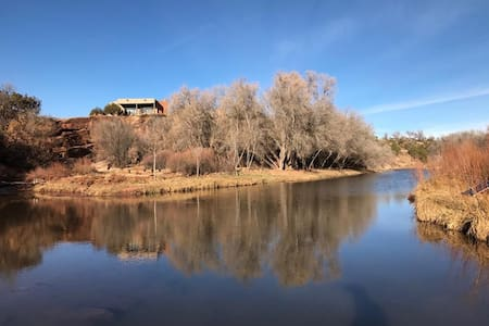 The Pecos River Cliff House, It is Magical! - 圣何塞