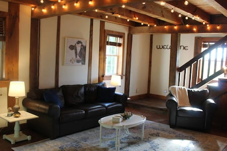 The Carriage House.  Just 2 miles from Hershey, PA
