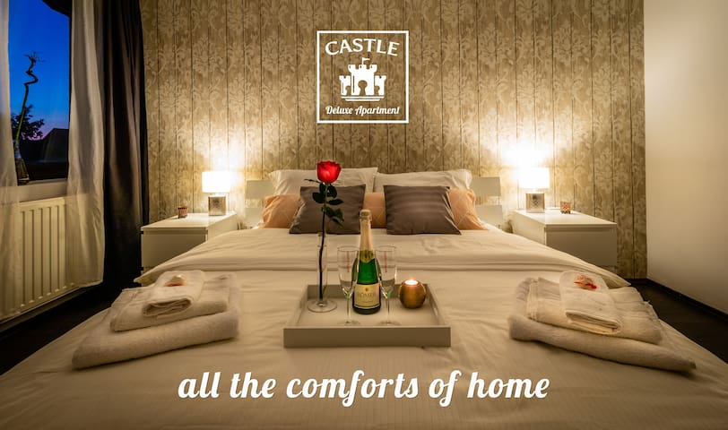 Castle Deluxe Apartment - a place to call Home!