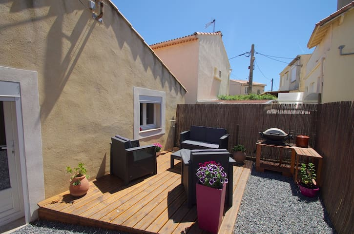 Maison T3 à 50m de la plage et du port - Fos-sur-Mer - House