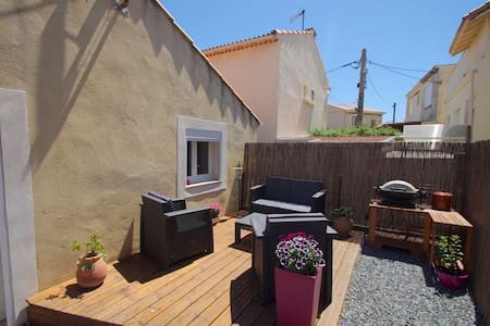 Maison T3 à 50m de la plage et du port - Fos-sur-Mer - Rumah