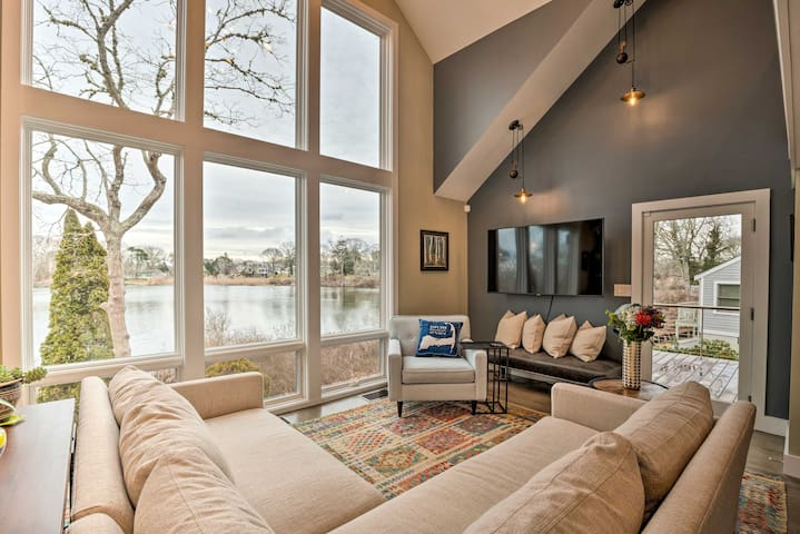NEW! Waterfront Getaway - 1 Mile to Ferry & Beach!