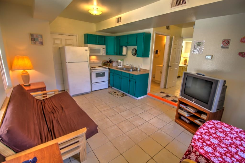 Full Kitchen with standard appliances