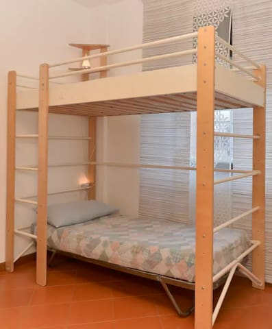 bunkbeds in sharedroom - Roma - Apartamento
