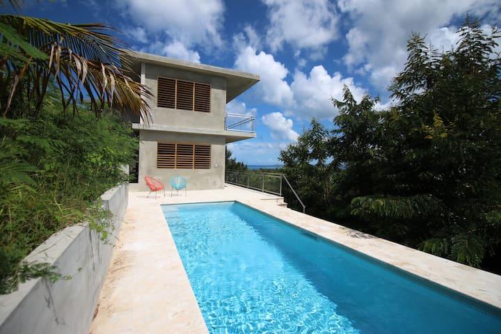 Casa Tsabar: Newly built, Ocean Views and Pool