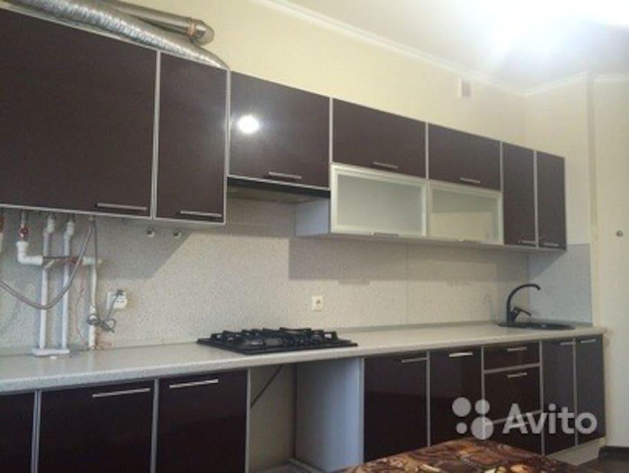 Встроенная мебель в кухне