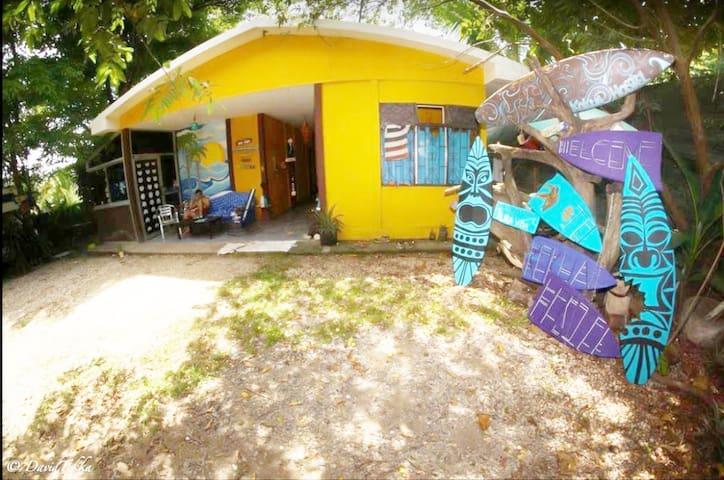 Cama 4  en dorm cuádruple en Jungle Hostel Garden