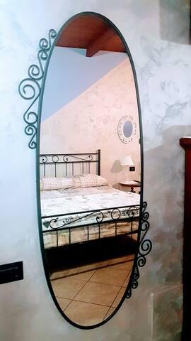 Camera da letto - particolare