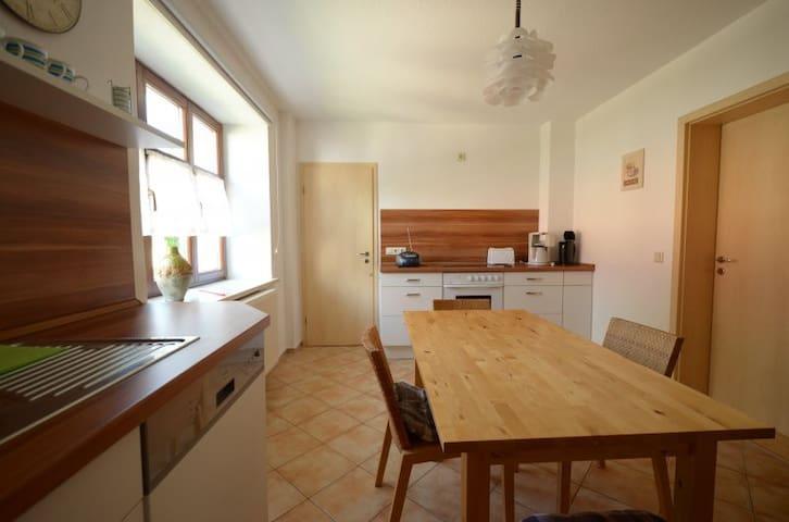 Komplette Wohnung mit Garten + WiFi - Doberschau-Gaußig - House