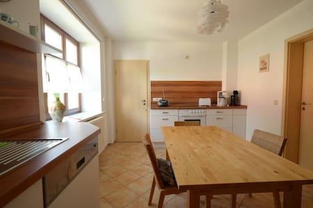 Komplette Wohnung mit Garten + WiFi - Doberschau-Gaußig
